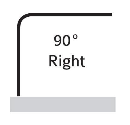 90° Right