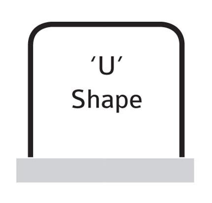 'U' Shape